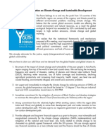1-Asia Pacific Youth Declaration on Climate Change and Sustainable Development-Final