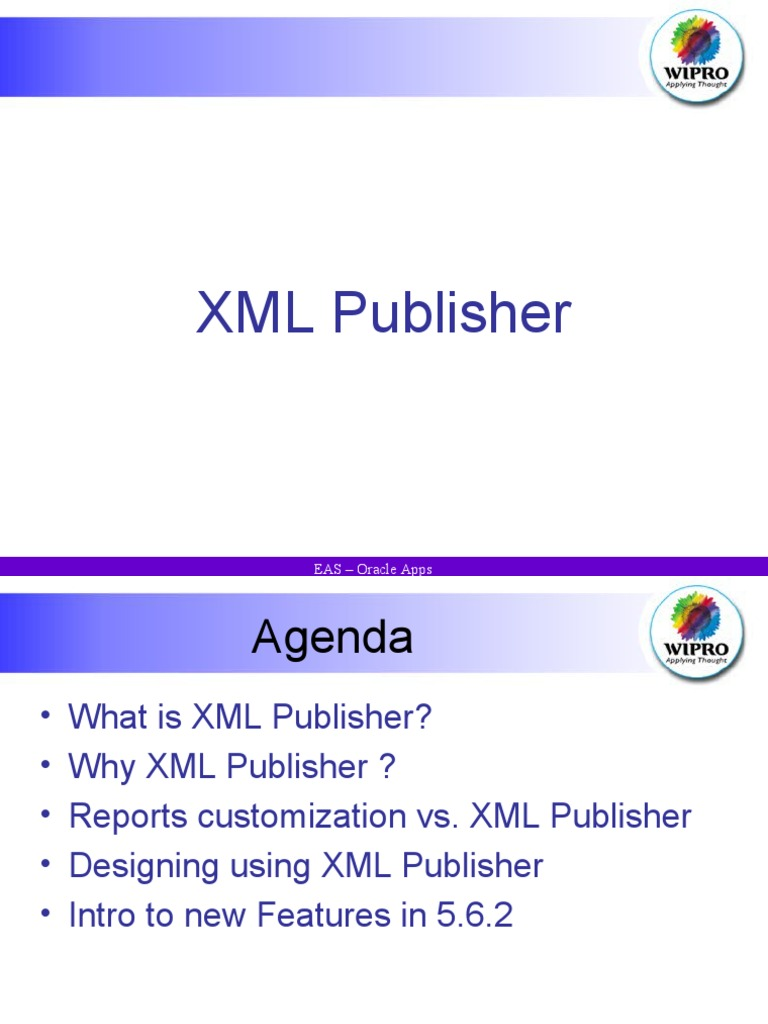 Xml publisher basic xml page layout baditri Images