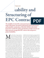 Bank Ability Structuring EPC Contracts