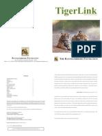 Tiger Link, Revived Vol 9, August 2011