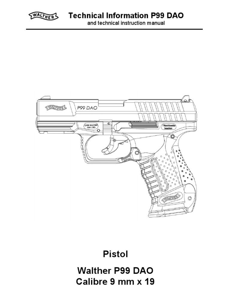 doc8 technical info p99 dao trigger firearms handgun rh es scribd com Walther PPS Walther PPQ