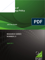 A Review of Irish Energy Policy