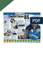 Castro turns 85