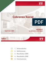 Nota Cobranza Social a Agosto2006 Roman Alvarez