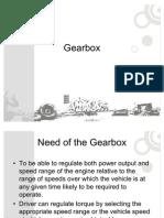 Presentation Gearbox