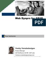 WebDynproForABAP