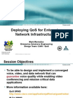 Deploying QoS for Enterprise Network Infrastructures
