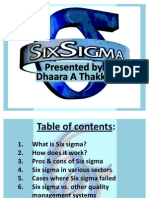 51152140 6 Sigma Ppt Dhaara T