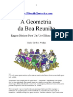 A GEOMETRIA DA BOA REUNIÃO