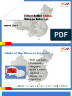 Burson-Marsteller State of the Chinese Internet March 2011