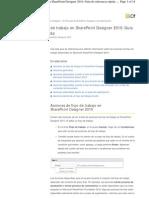 Acciones de flujo de trabajo en SharePoint Designer 2010 - Guía de referencia rápida