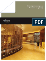 Fairmont Chicago Planning Guide - 2011