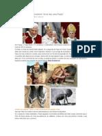 Papa Condena o Materialismo