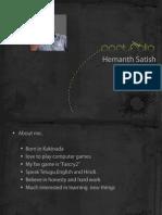 Hemanth Vfx Portfolio