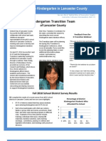 Transition Newsletter Aug 2011