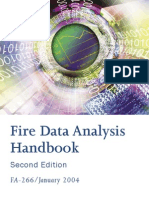 Fire Data Analaysis Handbook)