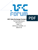 NFC Data Exchange NDEF