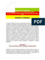 Consejo Mayor Documento