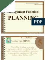 Module6 - Planning