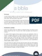 1 - A Bíblia