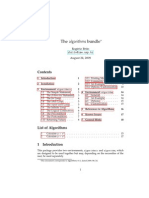 Algorithm Latex