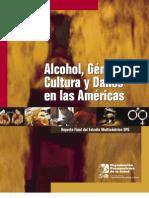 Alcohol, Genero, Cultura y Daños en las Americas
