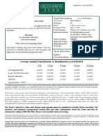 GRSPX Quarterly Update as of 6-30-11