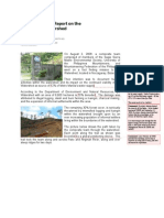 2008-0926 Independent Report on the State of Ipo Watershed