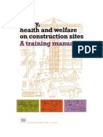 Trg Manual on Safety, Health & Welfare at Constrn Sites
