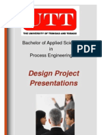 Project Presentation Brochure Email