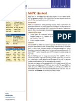 35076847 Nhpc Ltd Ipo Note