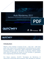 Auto Monterrey 2011 Invitation