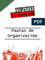 Pautas de Organización