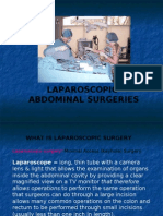 Laparoscopic Abdominal Surgeries