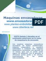 Maquinas Envasadoras y Equipo de Envasado en Argentina