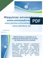 Maquinas Envasadoras y Equipo de Envasado en Paraguay