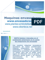 Maquinas Envasadoras y Equipo de Envasado en Peru