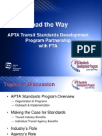 APTA Transit Standards Development