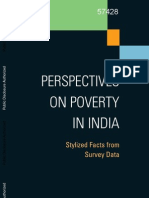 India Poverty Report 2011