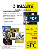 Daniel Wallace, Author & Specialist on Star Wars and Superheroes, to speak at SPC!