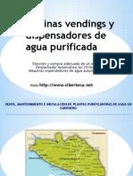 Maquinas Vendings de Agua Purificada y Maquina Expended or A de Garrafon en Guerrero