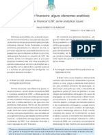 ALMEIDA. Paulo Roberto. O Brasil e o G20 Financeiro Algumas Perspectivas as Meridiano 47, Vol.10, n.110, 2009