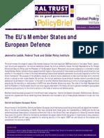 EU Defence - Ladzik