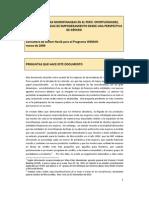 El Sector de Las Microfinanzas en El Peru