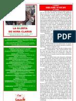 La Gazeta de Mora Claros nº 121 - 19082011