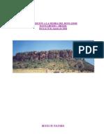 Informe Expedicion a La Sierra Del Roncador 2004