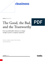 The Good, the Bad, and the Trustworthy
