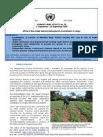 OCHA Kenya Humanitarian Update Volume 36
