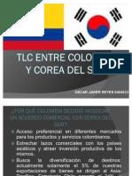 Tlc Entre Colombia y Corea Del Sur
