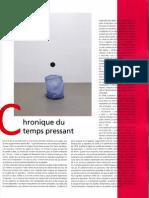 Chronique Du Temps Pressant
